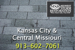 Hail Damage Roof Replacement Kansas City